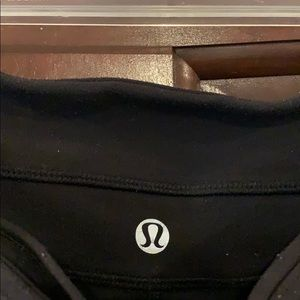 LULULEMON Groove Pant Bootcut Size 8 in Black